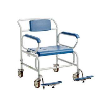 bariatrisk badetoiletstol med hjul