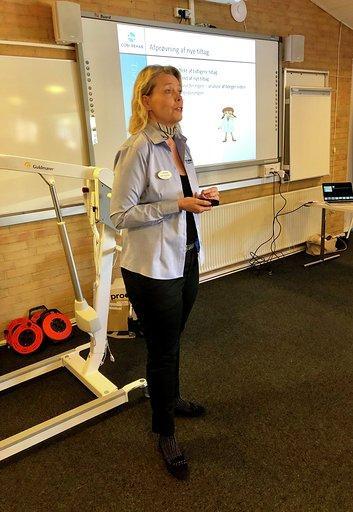 Malene underviser