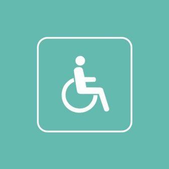 Rullstol och vagn