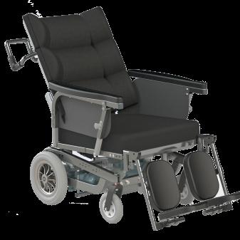Elektrisk komfort kørestol til bariatriske brugere - Bariatric comfort wheelchair with electric propulsion