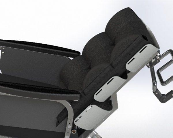 Bariatrisk komfort kørestol recline funktion