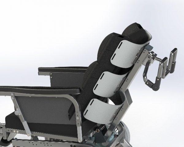 Bariatrisk komfort kørestol Cobi Cruise funktion
