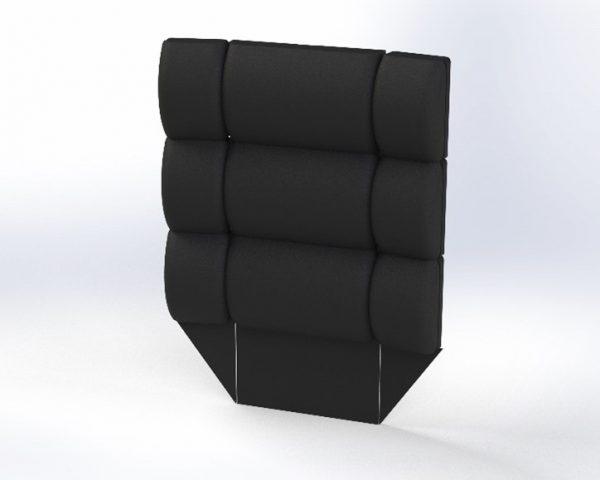 Bariatrisk komfort kørestol Cobi Cruise rygmodul